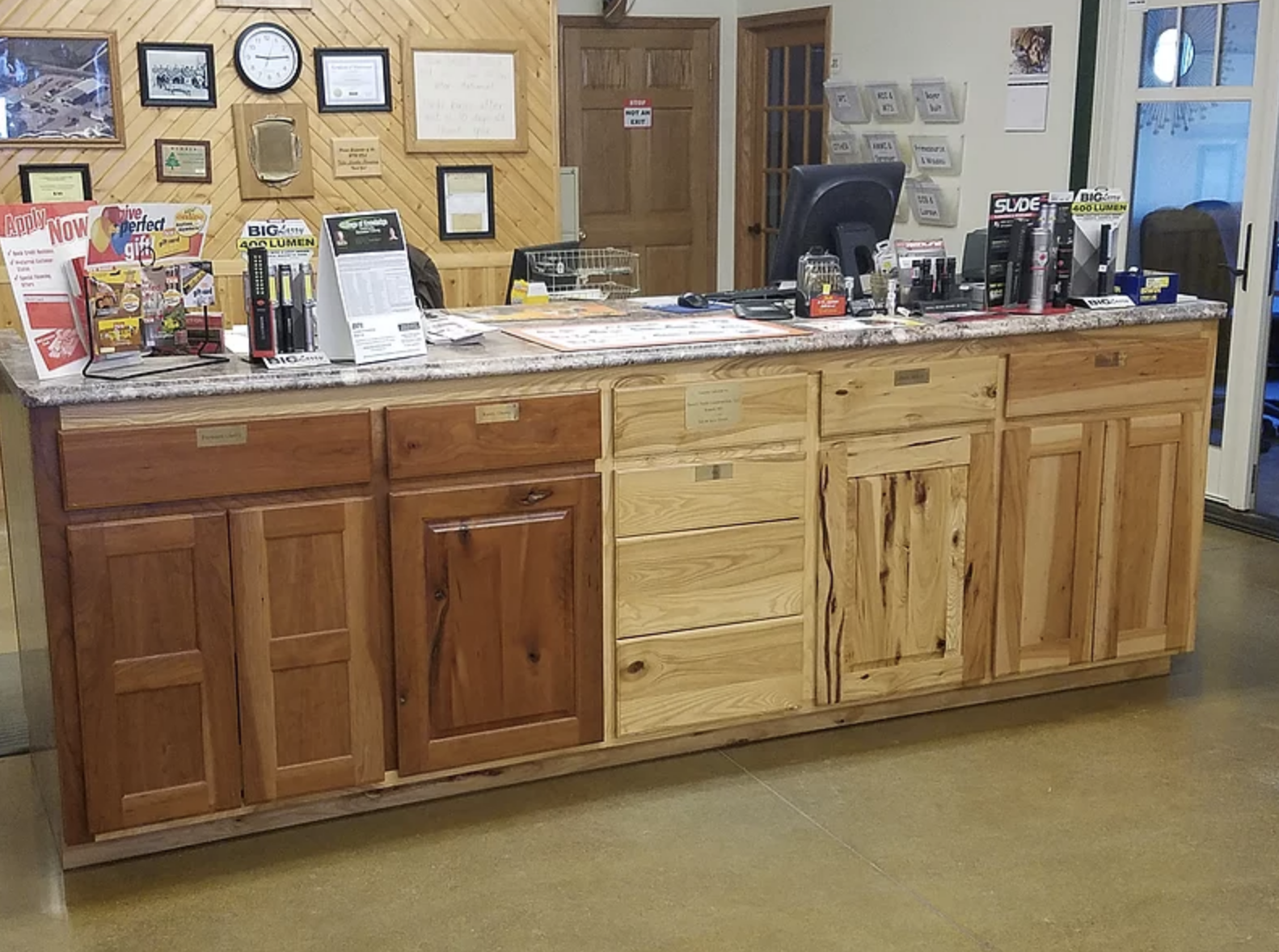 Picture of Tyler Lumber Cabinets